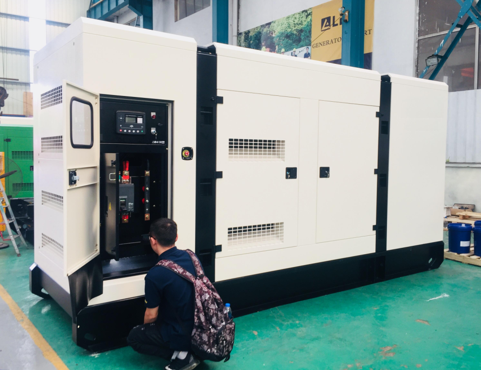 Lees Delivered generators to SHANDONG