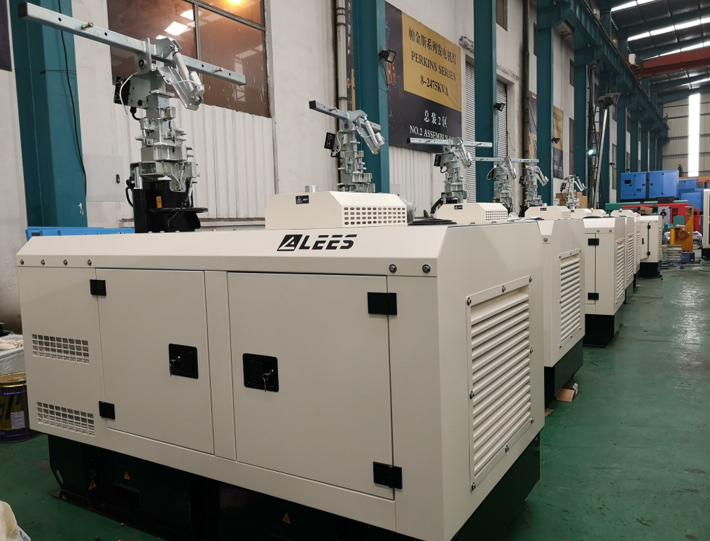 Lees Delivered generators to DURBAN,SOUTH AFRICA